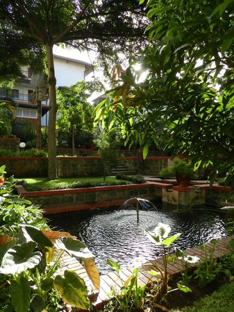 Fairmont The Norfolk: giardino tropicale