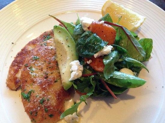 Rocpool Restaurant: Pan fried chicken escalope