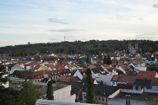 Hotel Bruchsal Scheffelhoehe: Vue sur la ville de Bruchsal