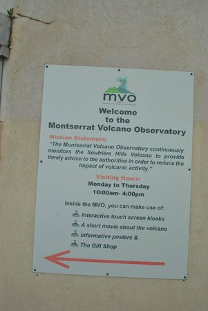 Soufriere Hills Volcano : Volcano observatory