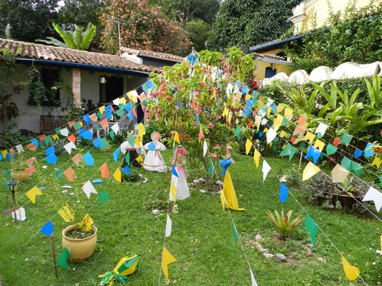 Pousada Raio de Sol: Pousada decorada para a Festa de São João... uma Alegria Só!!