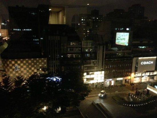 Hotel Royal-Nikko Taipei: View out of window