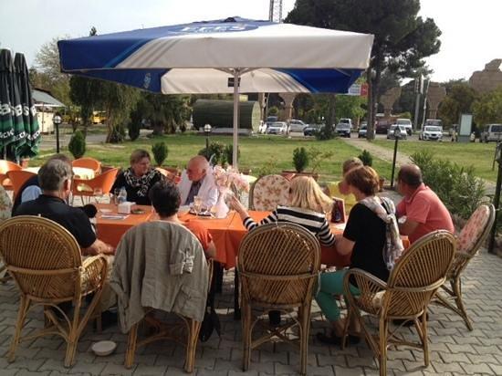 Oster-Event 2013 auf der Terrasse vom Pinokyo in Belek