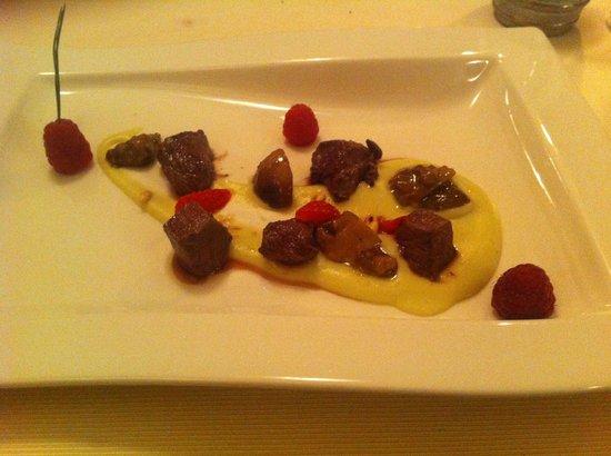 Chalet Ristorante Gourmet Mattias: cervo e porcini