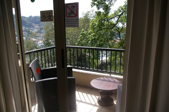Hotel Thilanka: petit balcon