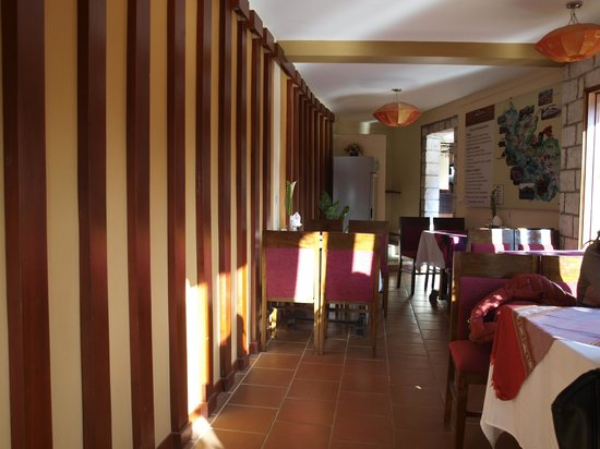 Sapa Elegance Hotel: Breakfat area