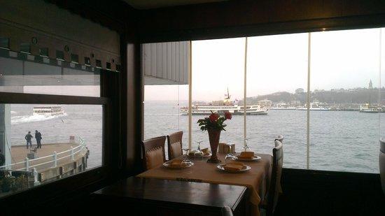 Balik Noktasi : View from the restaurant