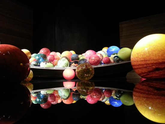 Chihuly Collection: Again, the boat and balls are one of my favorites