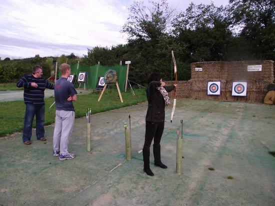 Top Events GB: Target Archery range