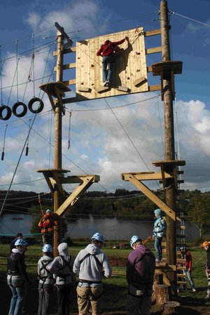 Top Events GB: Start of the Aerial Adventure course