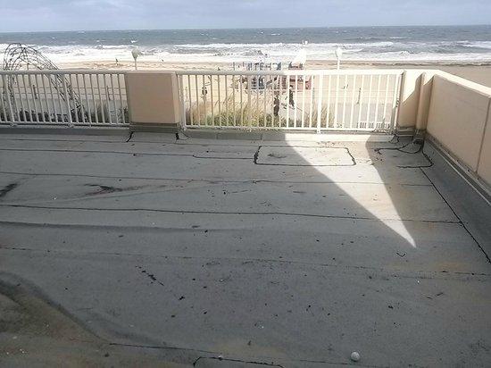 Hampton Inn Virginia Beach-Oceanfront South: Regular room_Balcony