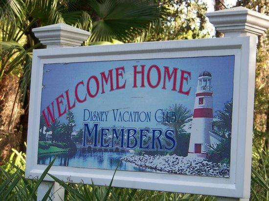Disney's Old Key West Resort: Entrance