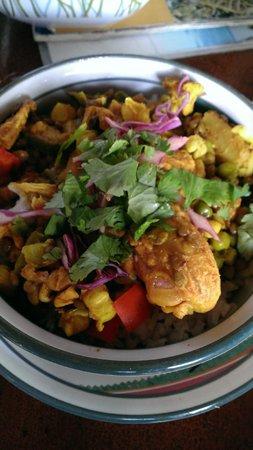Gynn'AK: Coconut Curry Chicken