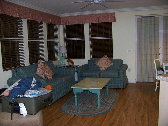 Disney's Old Key West Resort: Living room