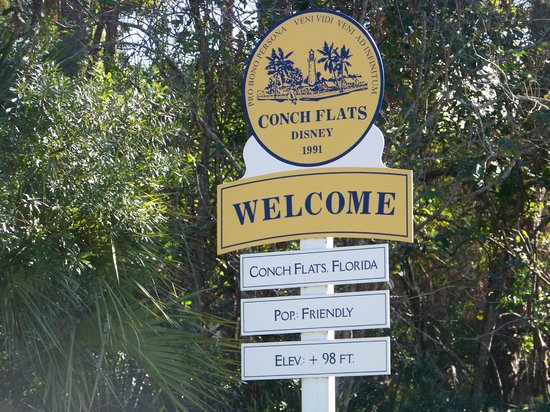 Disney's Old Key West Resort: Entry