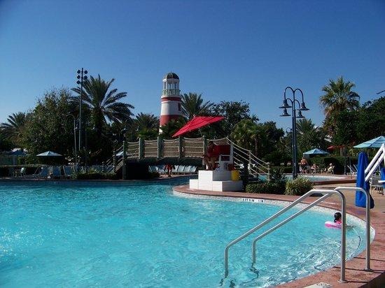 Disney's Old Key West Resort: Main pool