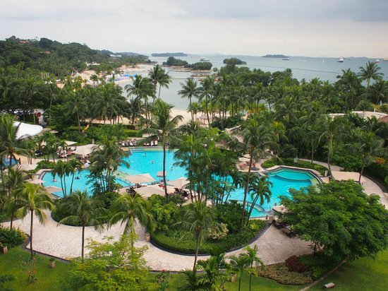 Kids Can Have Fun At The Beach And In The Swimming Pool Picture Of Shangri La 39 S Rasa Sentosa