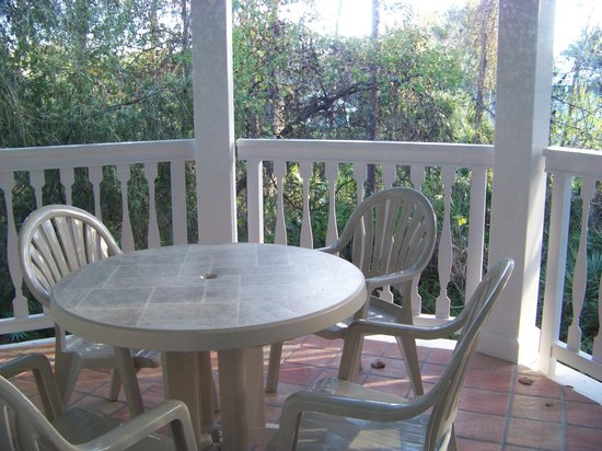 Disney's Old Key West Resort: Balcony