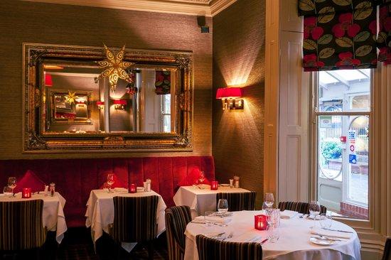 David Ferguson at The Belmont: Dining in the restaurant