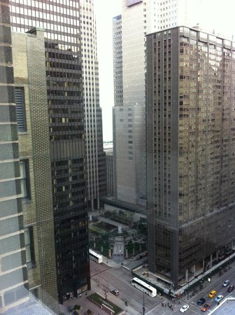 Hard Rock Hotel Chicago : Views from room, 23rd floor