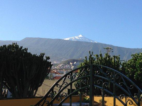 Hotel Tigaiga: Der Teide im Dezember 2013 vom neuen Parkplatz aus