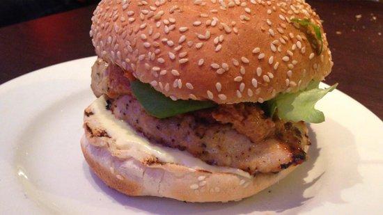 Chicken satay burger - Picture of Gourmet Burger Kitchen, Windsor ...