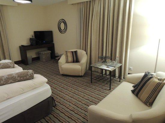 Hotel Am Hopfensee: Sitting area
