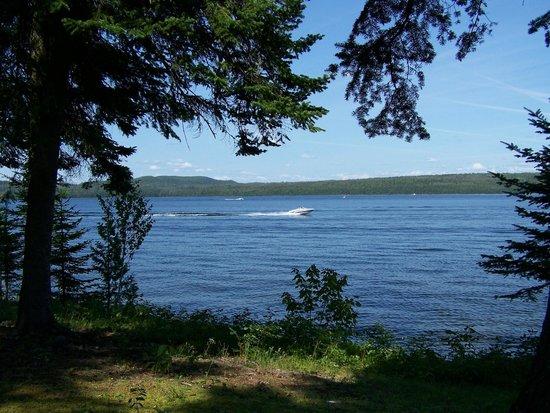 Parc Linéaire Interprovincial Petit Témis : Le Parc linéaire Petit Témis longe le lac Témiscouata, long de 40 km