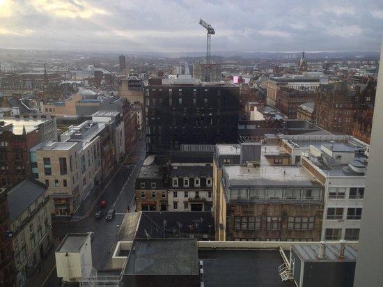 Premier Inn Glasgow City Centre Buchanan Galleries Hotel : View from 12th floor