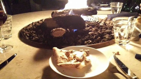 The Bench: Organic Mushroom Triple cream brie, goat cheese & sherry vinegar