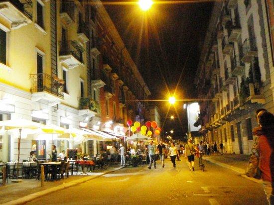 Art Hotel Navigli: Night out in Navigli