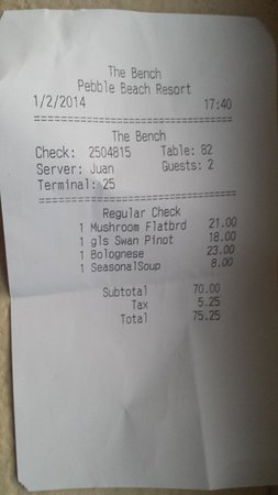 The Bench: The bill