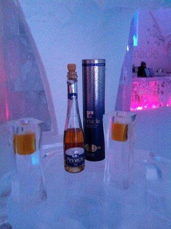 Hôtel de Glace : Coldest drinks you'll ever find