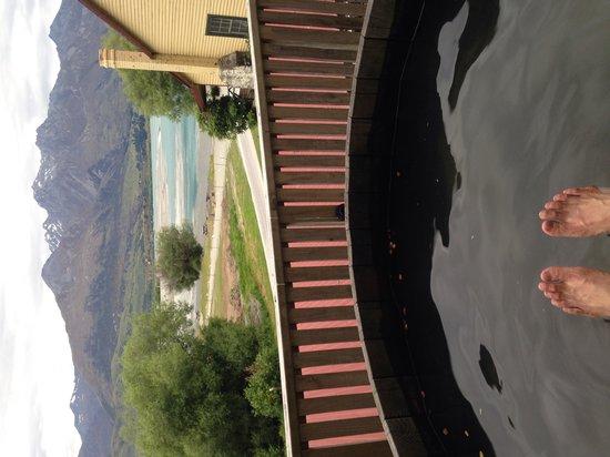 Kinloch Lodge: Hot tub