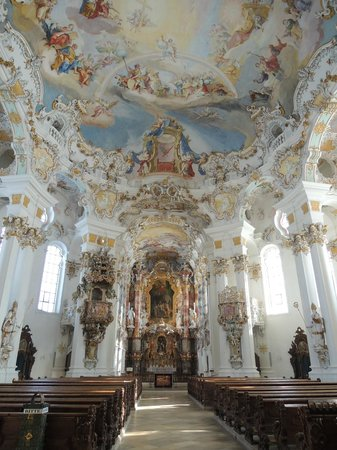 Wieskirche: Interior - Simply awesome