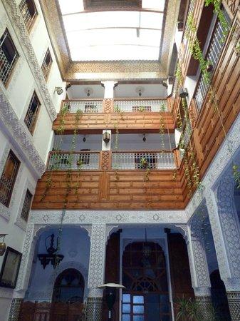 Riad Dar Dmana: Vue du patio