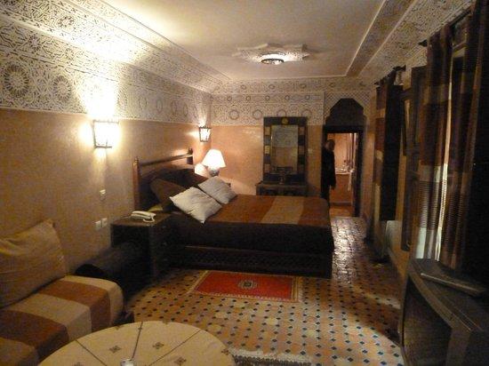 Riad Dar Dmana: Notre chambre