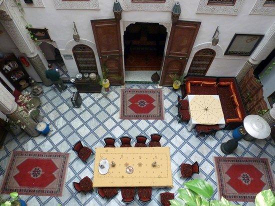 Riad Dar Dmana: Le patio du Riad