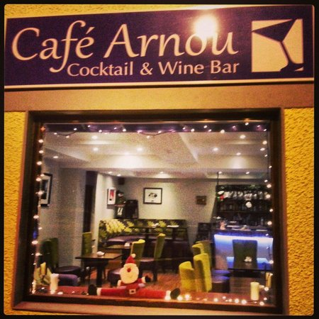 Cafe Arnou Cocktail & Wine Bar : Cafe Arnou