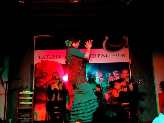 La Taberna de Mister Pinkleton: The beautiful dancer Paula