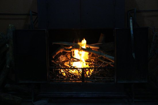 Dana Guesthouse: The Fireplace