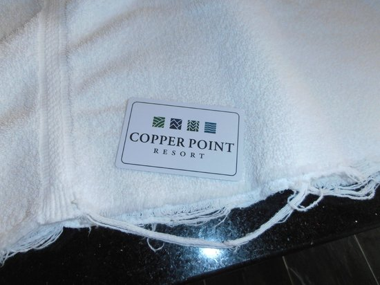 Copper Point Resort: towels