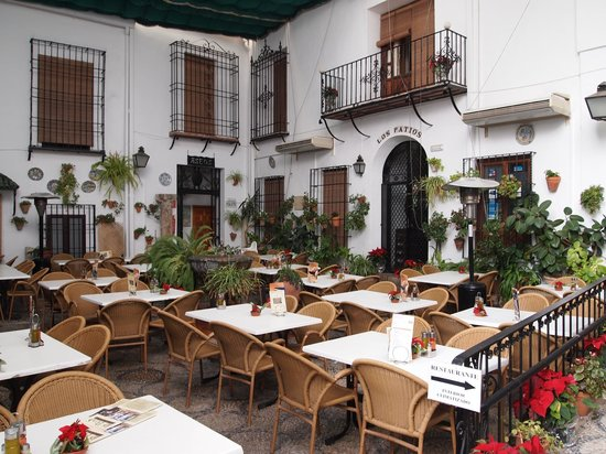 Konexion Tours - Cordoba : Courtyard where we had wine afterwards