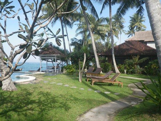 Amarta Beach Cottages: Zona da piscina