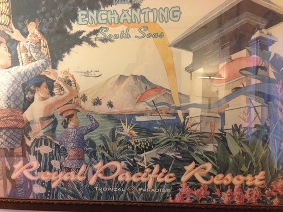 Loews Royal Pacific Resort at Universal Orlando: Poster