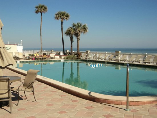 Daytona Beach Resort and Conference Center : one of two outside pools