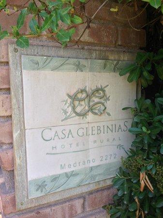 Casa Glebinias: Welcome