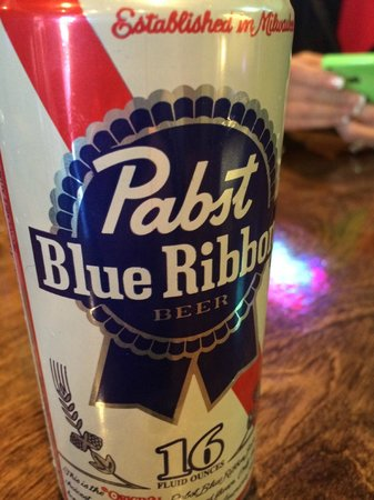Maple and Motor - Burgers and Beer: PBR