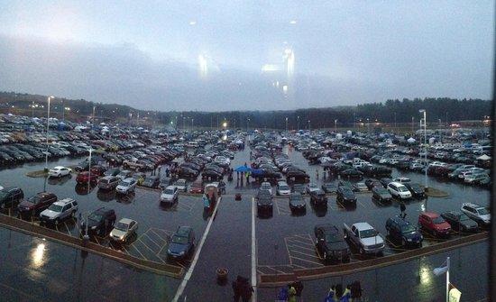 Gillette Stadium: Estacionamiento día del partido