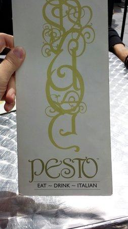 Pesto Bar & Restaurant: Menu